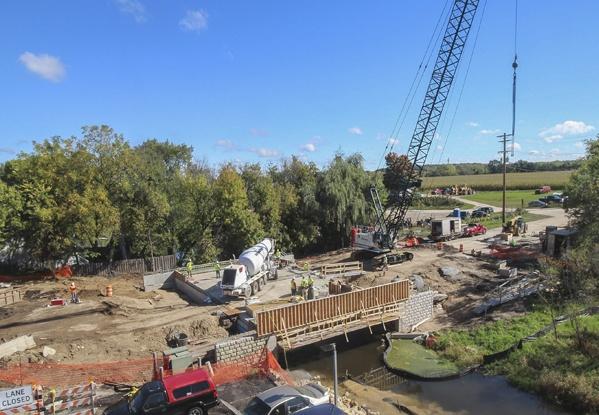 marine construction, bridge construction, construction, heavy infrastructure, pile driving
