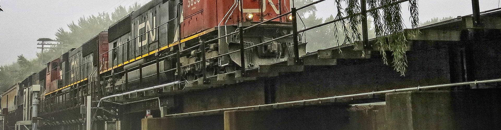 pier and abutment repairs, abutment repairs, pier repairs, railroad bridge, railroad bridge construction