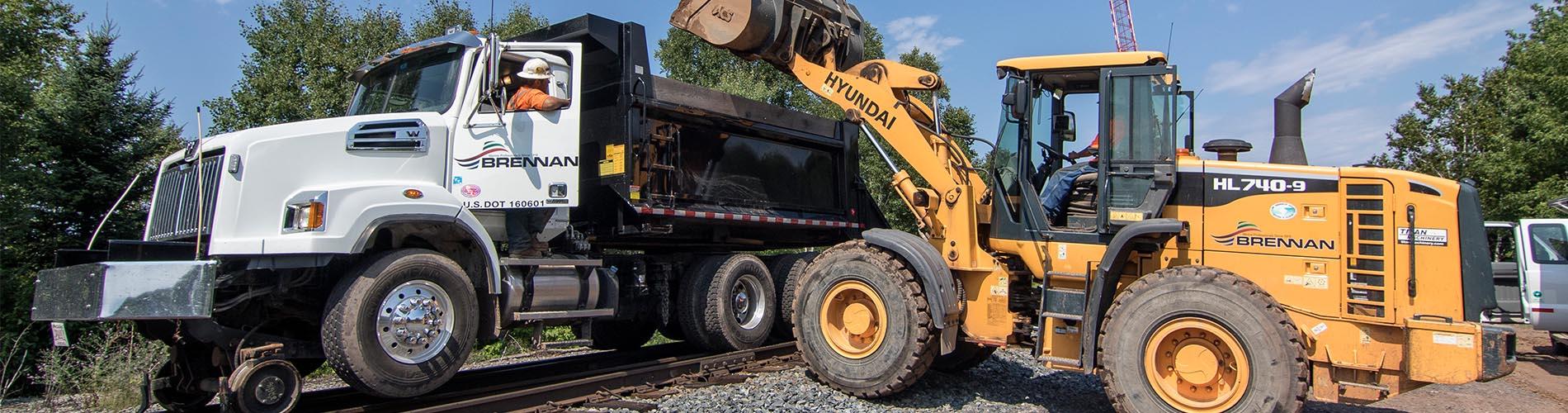 railroad contruction, railroad maintenance, railroad repair, railroad contractor, hi rail equipment