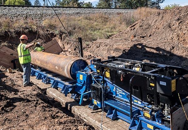 railroad construction, culverts, culvert installation, culvert boring, railroad contractor